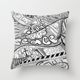 Attributes of God Throw Pillow