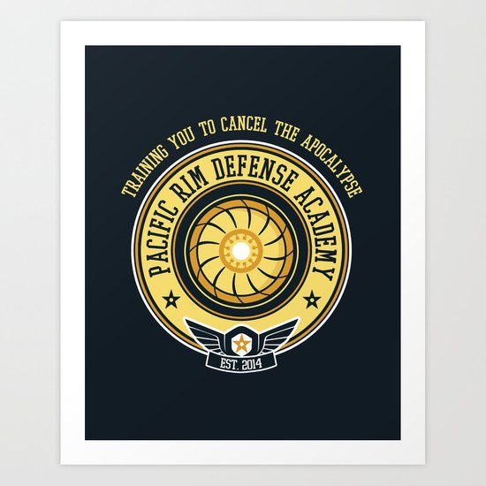 Pacific Rim Defense Academy Art Print