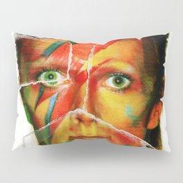 Broken Bowie Pillow Sham