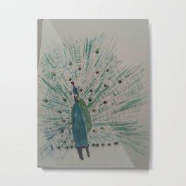 The prevb |Peacock Metal Print