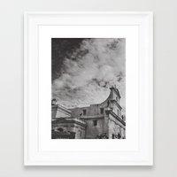 gotham Framed Art Prints featuring Gotham by Gerardo Vélez +koifish&astronauts