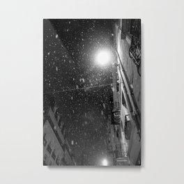 L'hiver d'Angers Metal Print