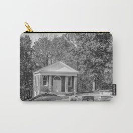 Black and White Photography Night Of The Loving Dead Chapel Carry-All Pouch