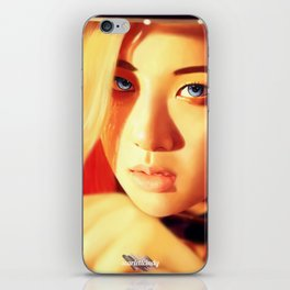 Rosé - Black Pink (Square Two) iPhone Skin