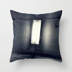 downsideup Throw Pillow