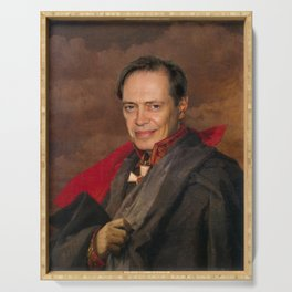 Steve Buscemi Poster, Classical Painting, Regal art, General, Actor Print, Celebrity Serving Tray