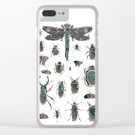 Collection of Insects Clear iPhone Case