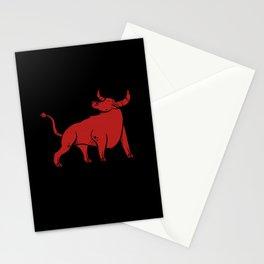 Bull I Animal Lover I Wild Animals Stationery Cards