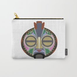 African Tribal Mask No. 6 Carry-All Pouch