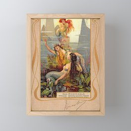 Das Rheingold Gold of Rhein Framed Mini Art Print