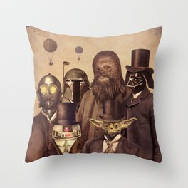 Victorian Wars (A2 format)  Throw Pillow