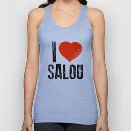 Love Salou Unisex Tank Top