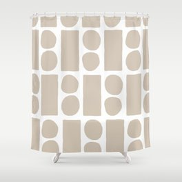 blocky Shower Curtain