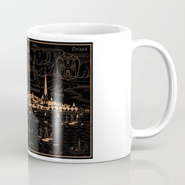 Riga 1544 (mahogany inverted) Coffee Mug