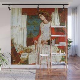 "William Morris ""La Belle Iseult (Queen Guinevere)"" Wall Mural"
