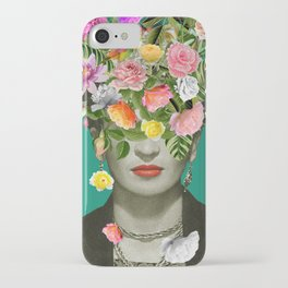Frida Floral iPhone Case