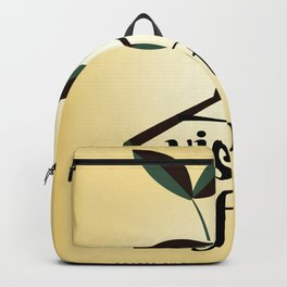 Visit The Forest Government poster Backpack