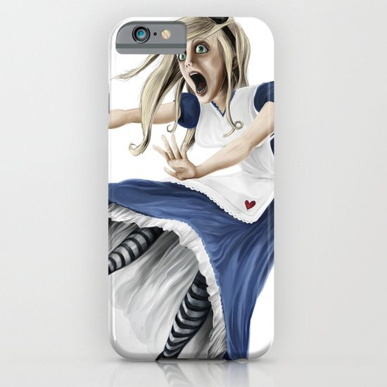 Falling Alice iPhone & iPod Case