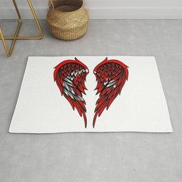 Turkish wings art Rug
