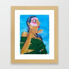 Born Here Framed Art Print