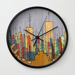 Dollars and Sense Wall Clock