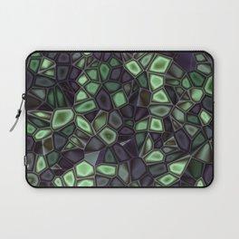 Fractal Gems 04 - Emerald Dreams Laptop Sleeve