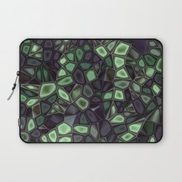 Fractal Gems 04 - Emerald Dreams Laptop Sleeve