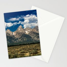 The Grand Tetons - Summer Mountains Stationery Cards