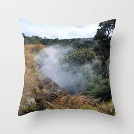sulphur bank Throw Pillow