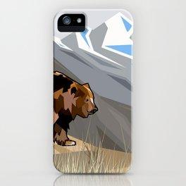 Fragile Bear iPhone Case