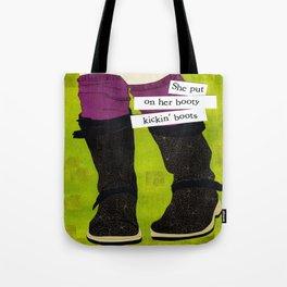 Booty Kickin Boots Tote Bag