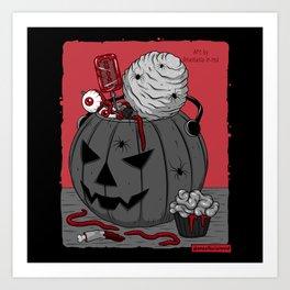 Сreepy candy Art Print