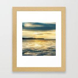Solstice -Winter Baltic Sea Serie Framed Art Print