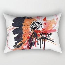 Brave Soul Rectangular Pillow