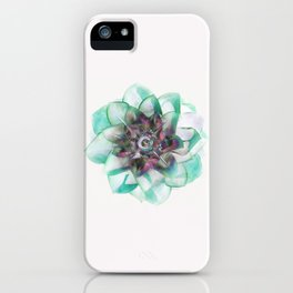 Abstract Houseleek iPhone Case