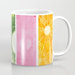 Summer Fruits Watercolor Abstraction Coffee Mug