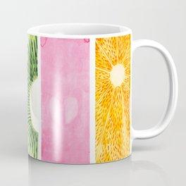 Summer Fruits Watercolor Abstraction Coffee Mug