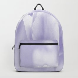 Day dream in shades of violet - spring atmosphere Backpack