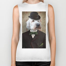 Sir Kansas - Wheaten Terrier Biker Tank