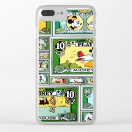 Lucky Bucks Play Money Clear iPhone Case