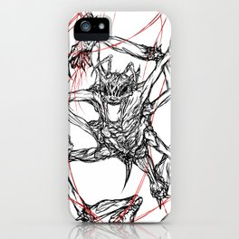 Lying in Wait iPhone Case