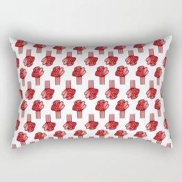Peineta Rectangular Pillow