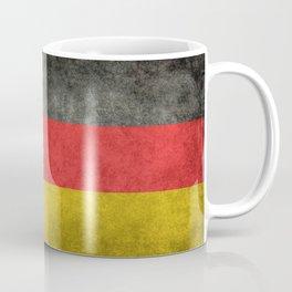 German National flag, Vintage retro patina Coffee Mug