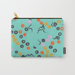 Tryppies Teal Carry-All Pouch