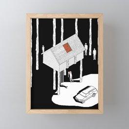 Hereditary by Ari Aster and A24 Studios Framed Mini Art Print