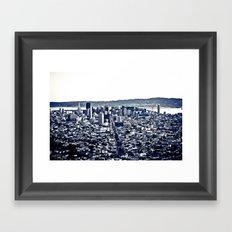 San Fran   Framed Art Print