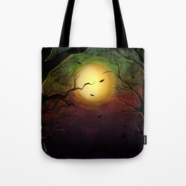 Nightmare into the woods Tote Bag