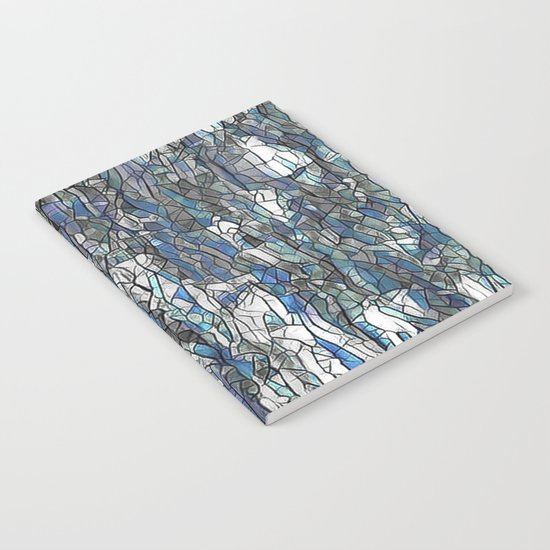 Abstract blue 2 Notebook