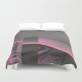 Claraboya, Geodesic Habitacle, Pink neon room Duvet Cover