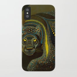 Dark Jaguar iPhone Case